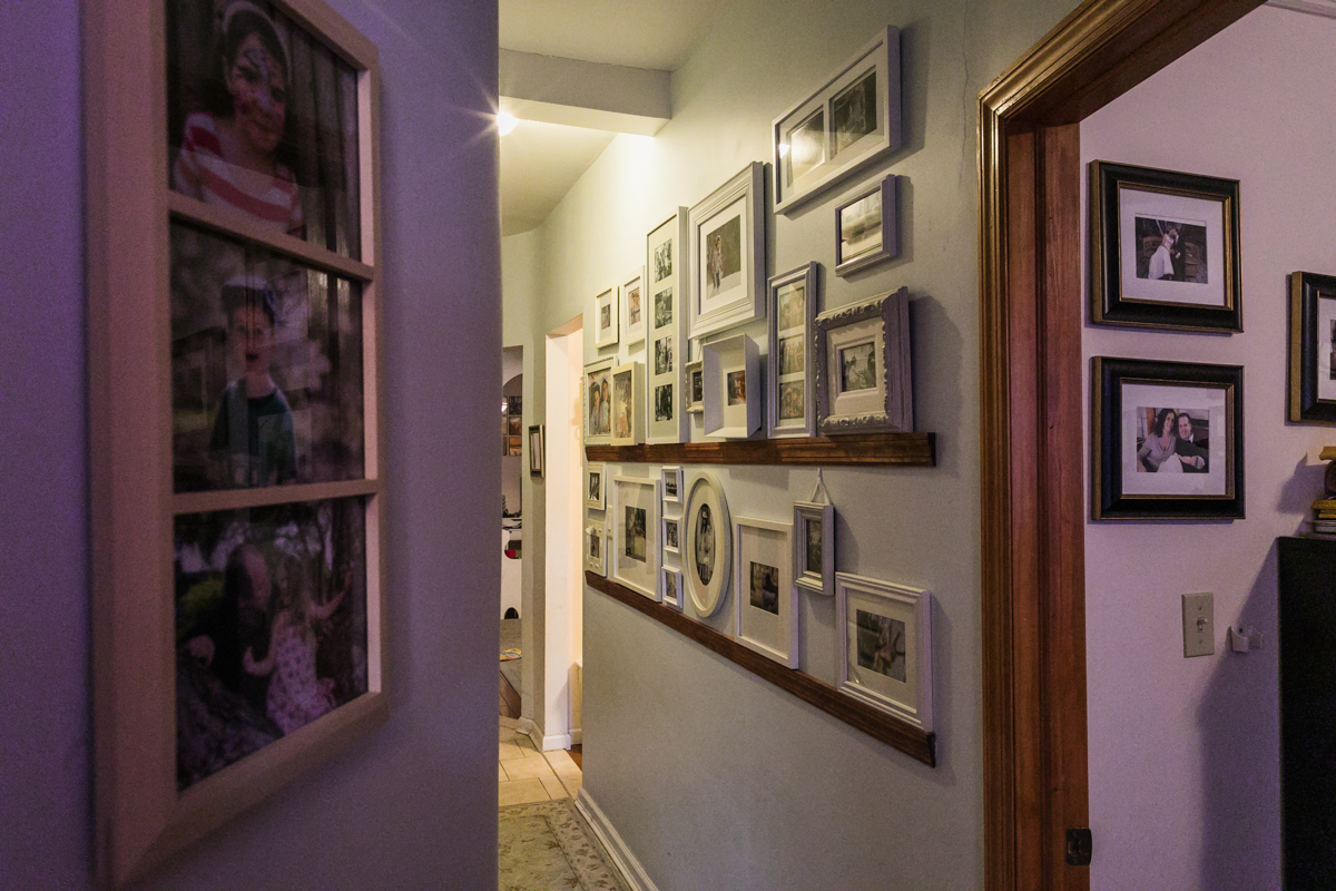 photo display white frames
